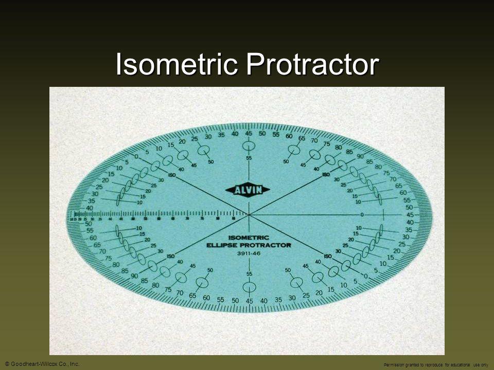 Isometric Protractor