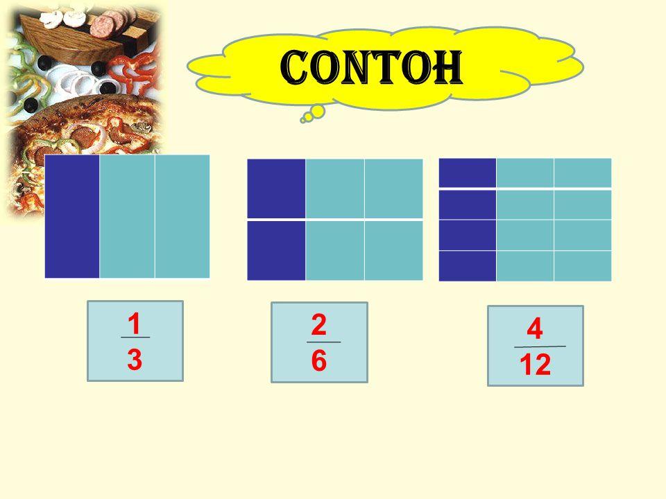 CONTOH 1 3 2 6 4 12