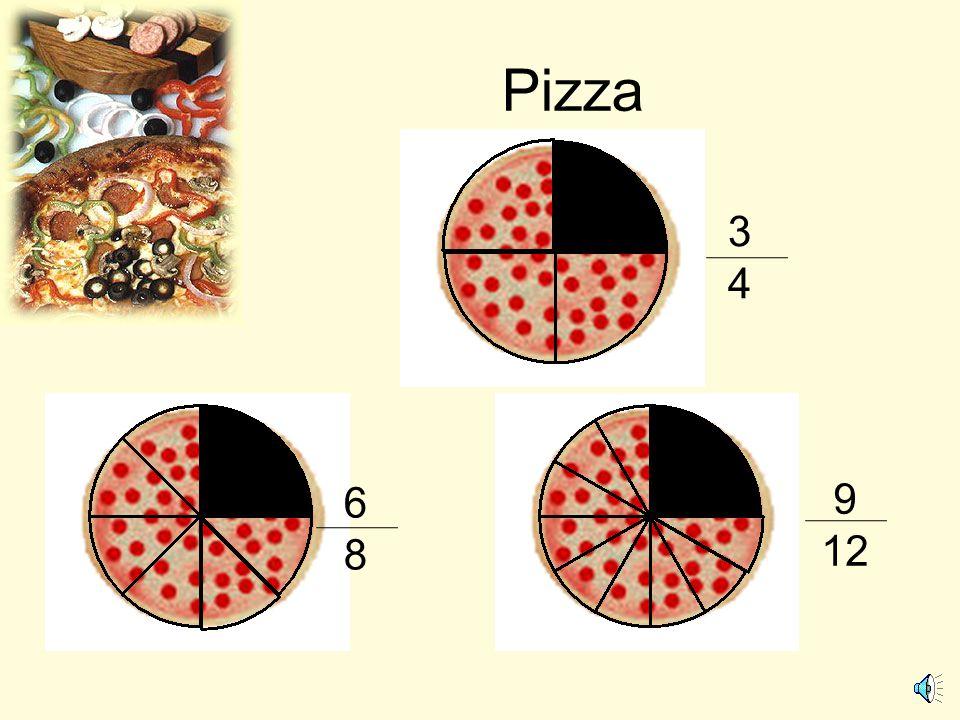 Pizza 3 4 6 8 9 12