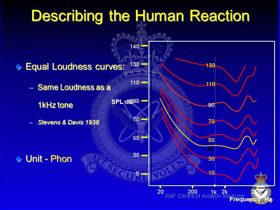 Describing the Human Reaction