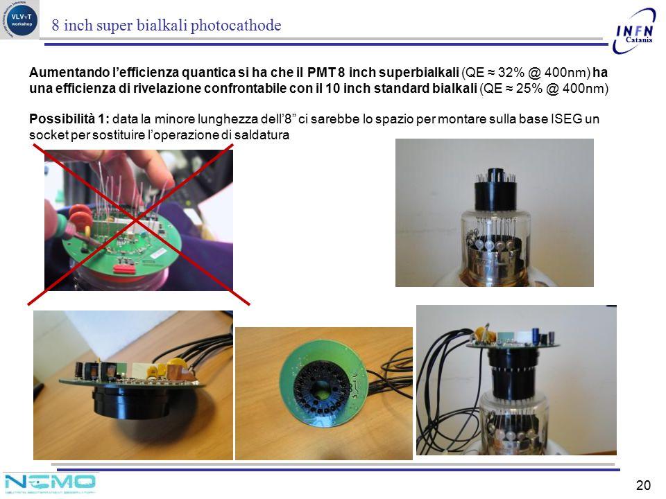 8 inch super bialkali photocathode