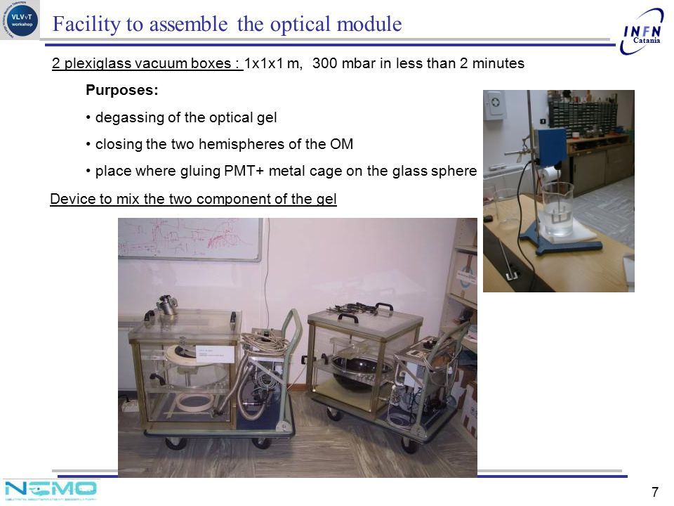 Facility to assemble the optical module