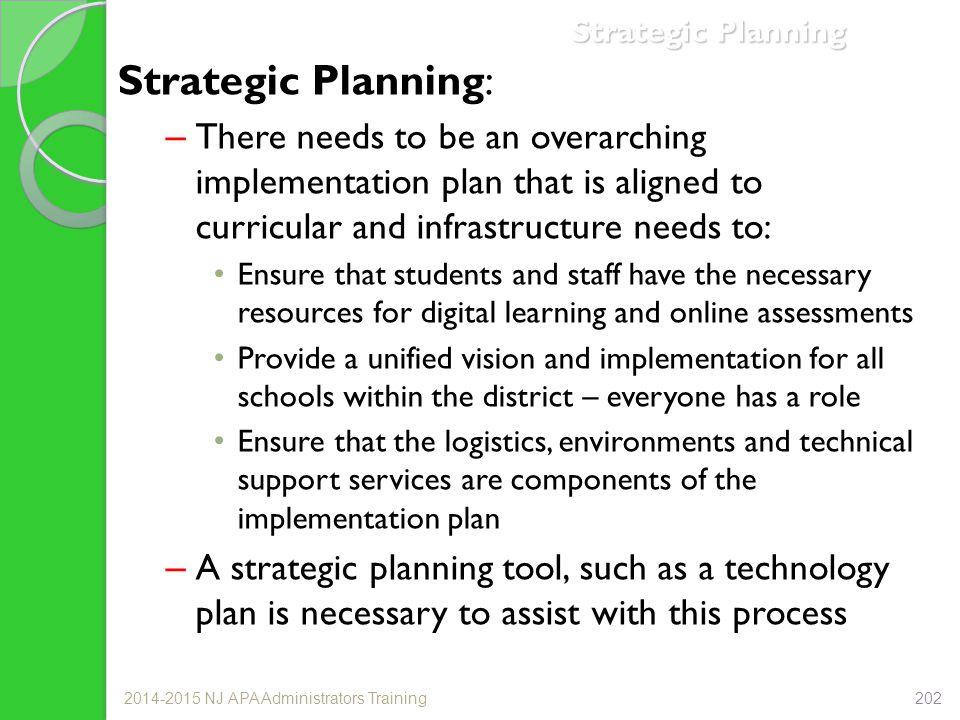 Strategic Planning Strategic Planning: