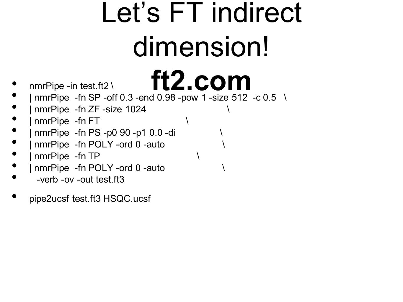 Let's FT indirect dimension! ft2.com