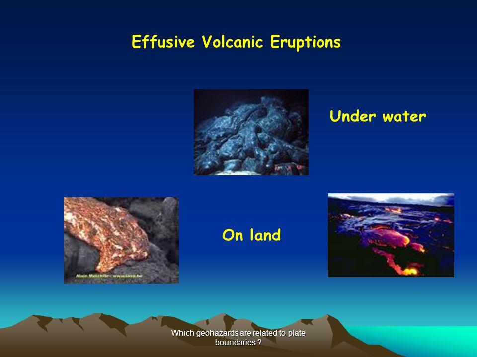 Effusive Volcanic Eruptions