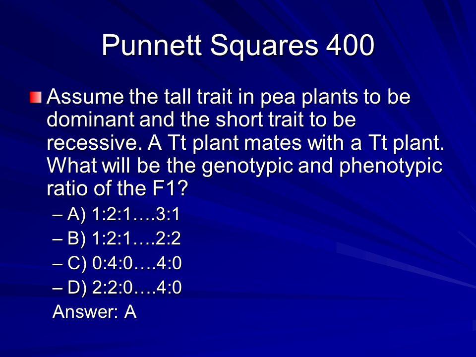 Punnett Squares 400