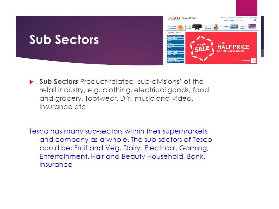Sub Sectors