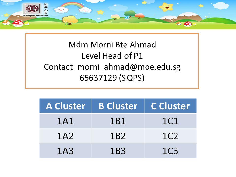 Contact: morni_ahmad@moe.edu.sg