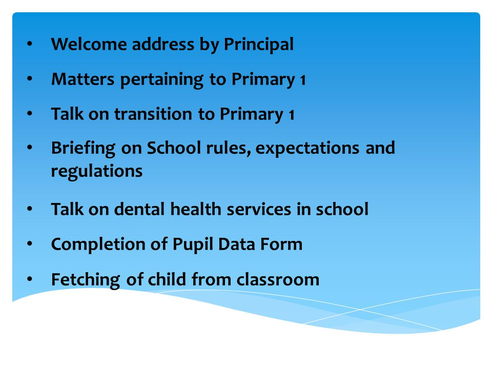 Welcome address by Principal
