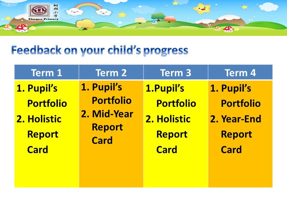 Feedback on your child's progress