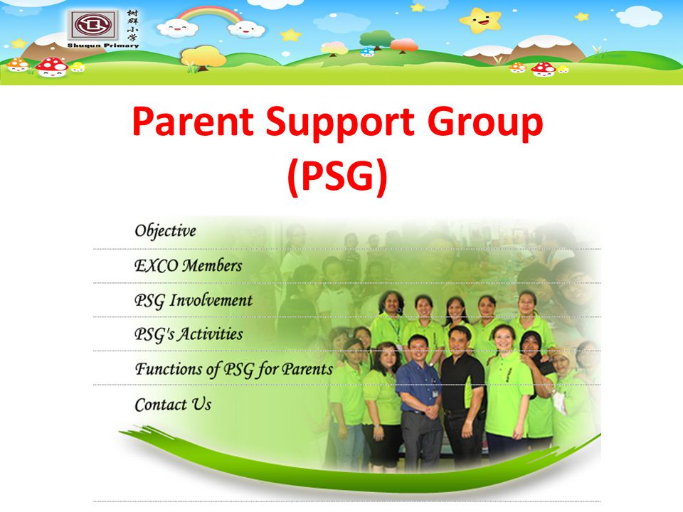 Parent Support Group (PSG)