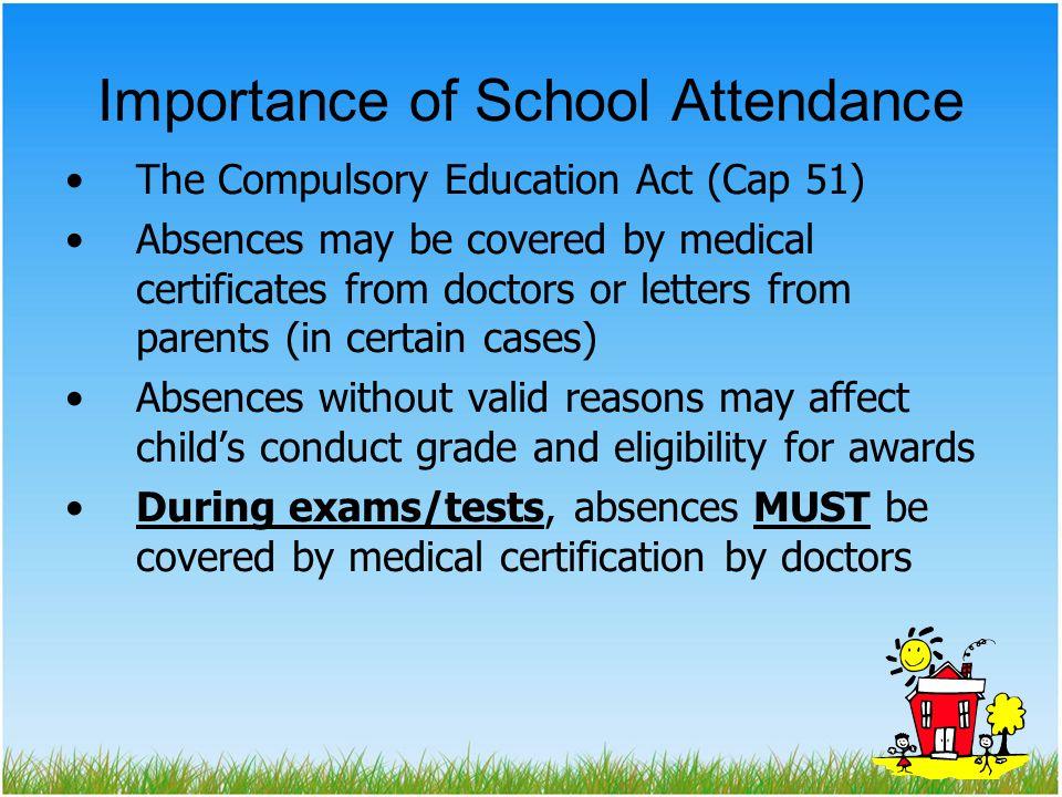 Importance of School Attendance