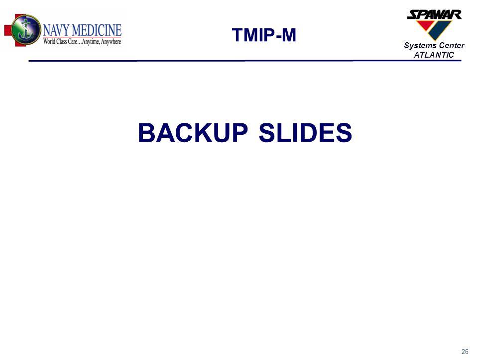 TMIP-M BACKUP SLIDES