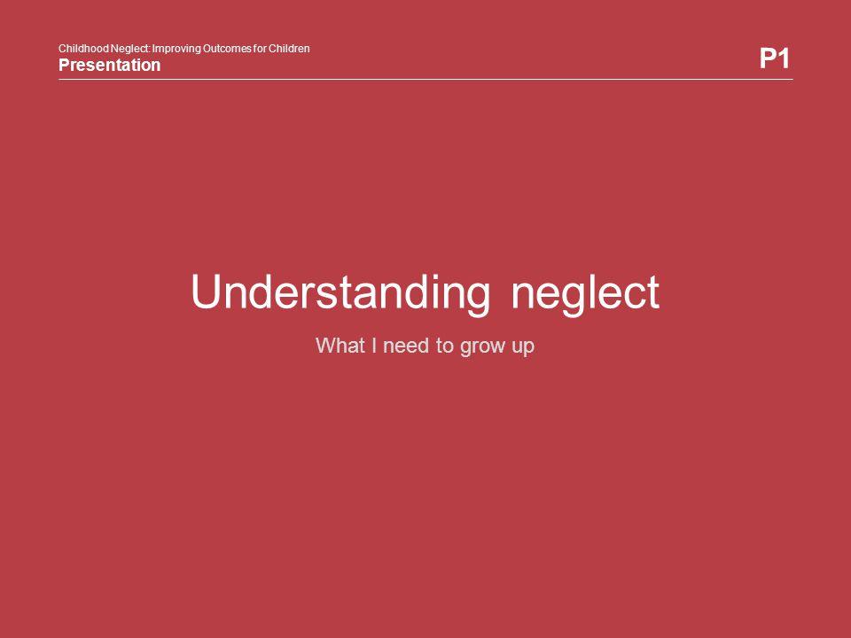 Understanding neglect