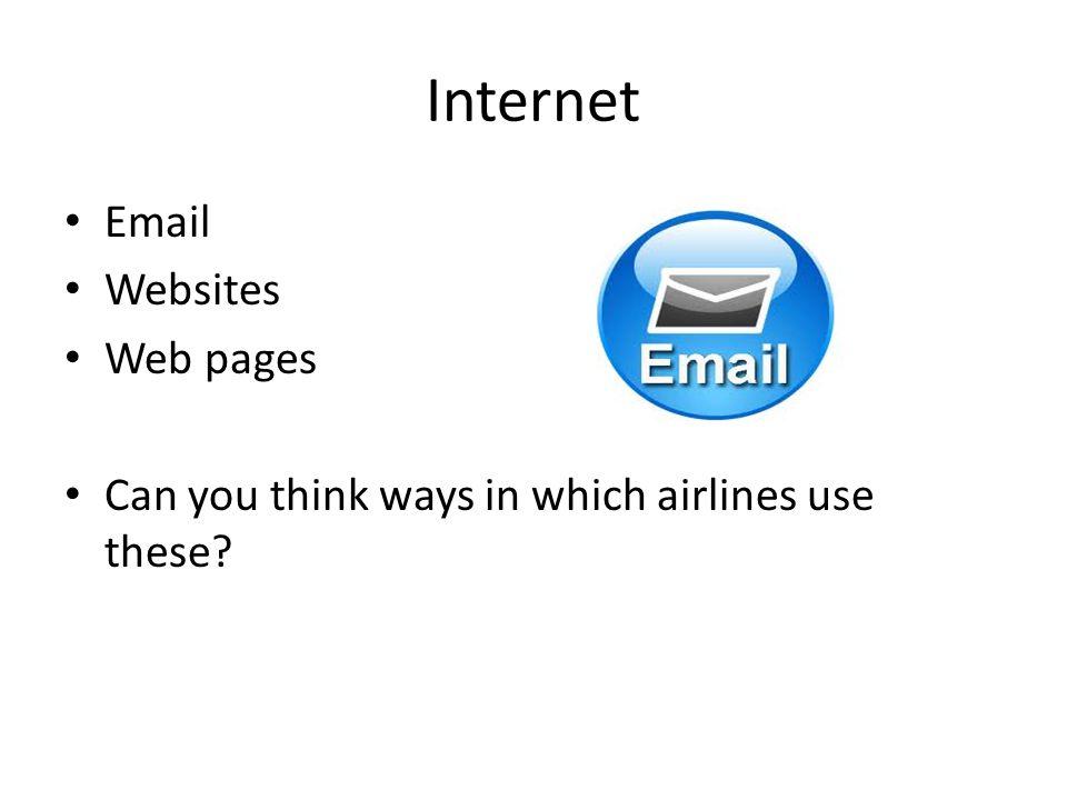 Internet Email Websites Web pages