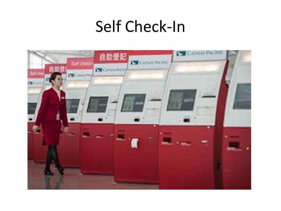 Self Check-In