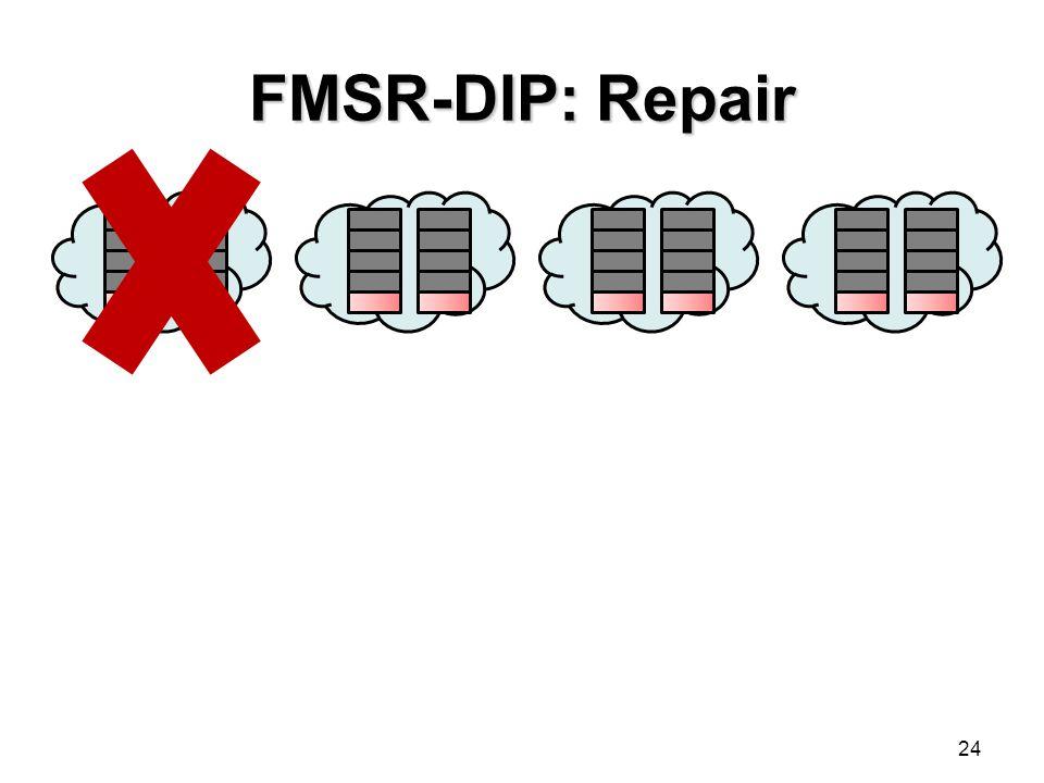 FMSR-DIP: Repair
