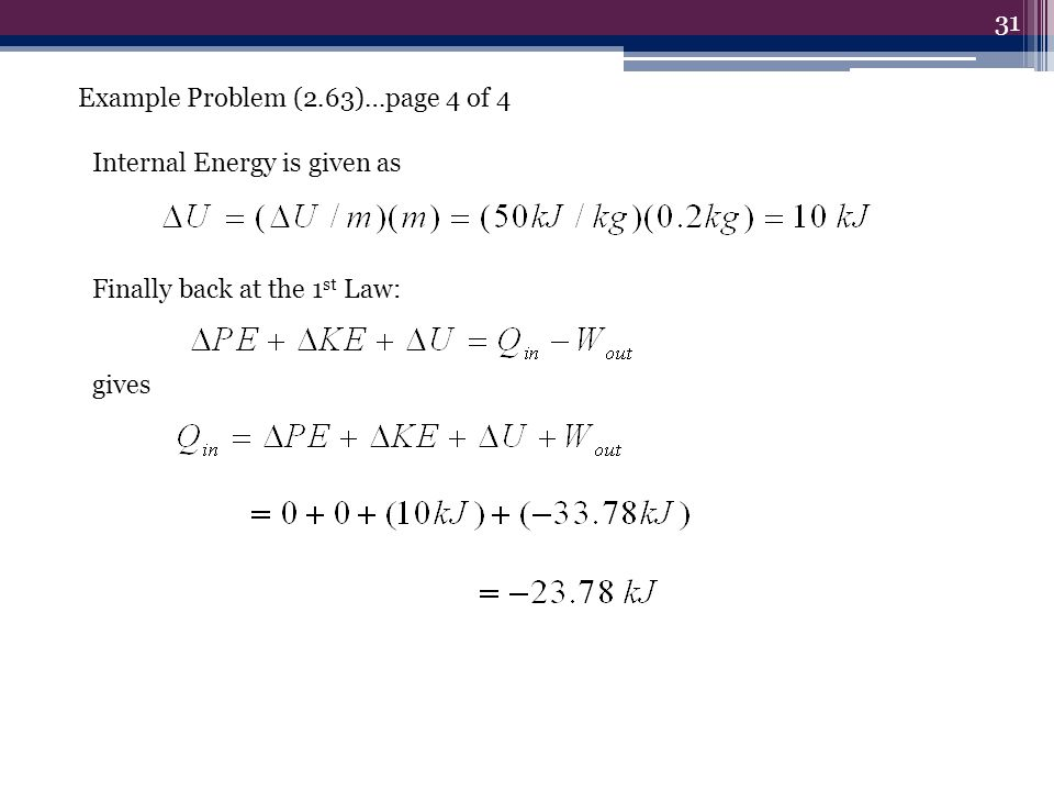 Example Problem (2.63)…page 4 of 4