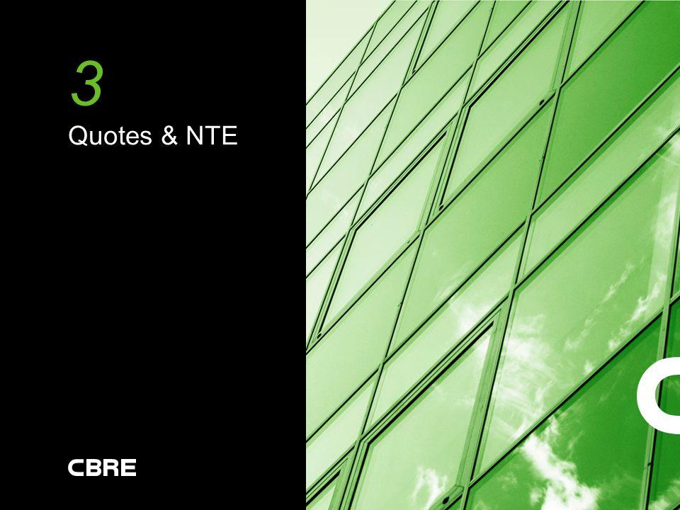 3 Quotes & NTE