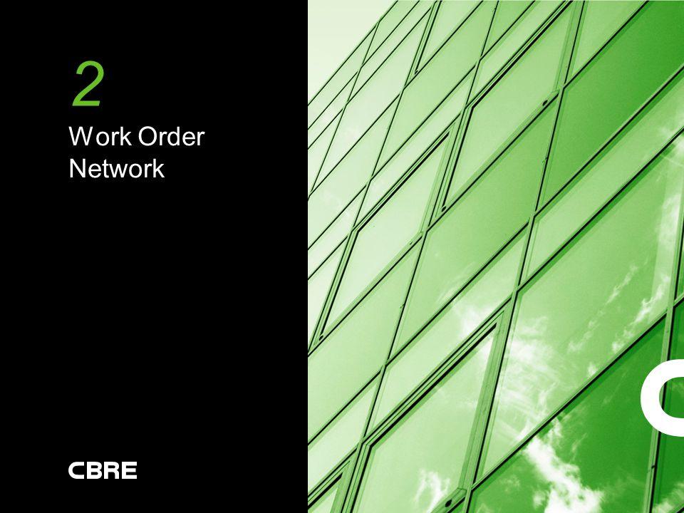 2 Work Order Network