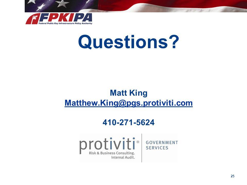 Matt King Matthew.King@pgs.protiviti.com 410-271-5624