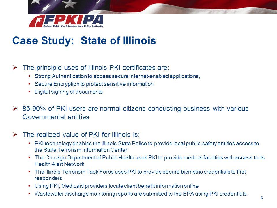 Case Study: State of Illinois