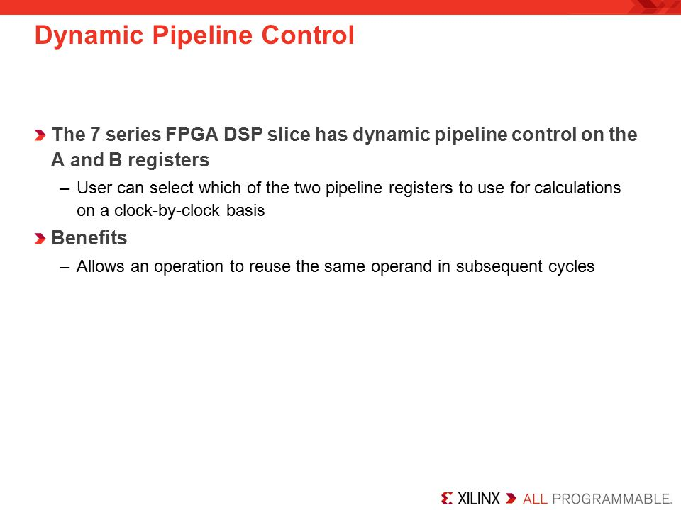 Dynamic Pipeline Control