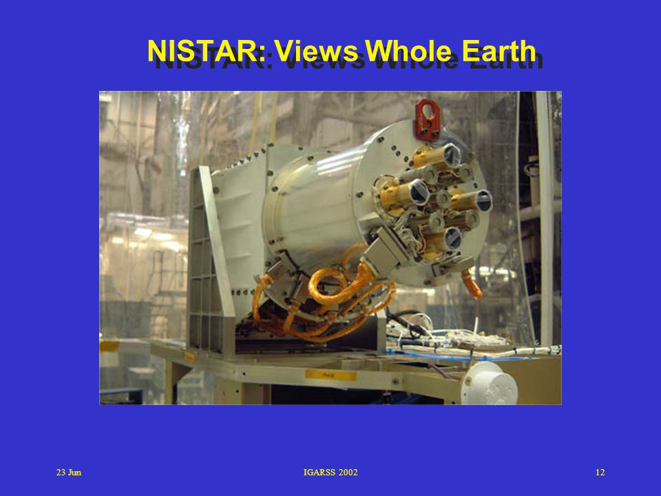 NISTAR: Views Whole Earth