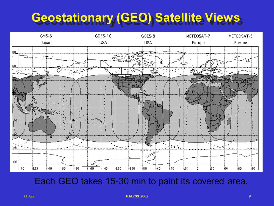 Geostationary (GEO) Satellite Views