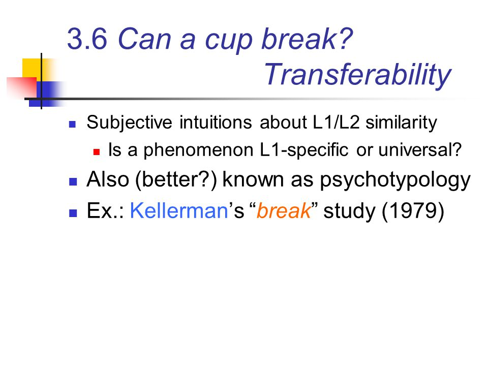 3.6 Can a cup break Transferability