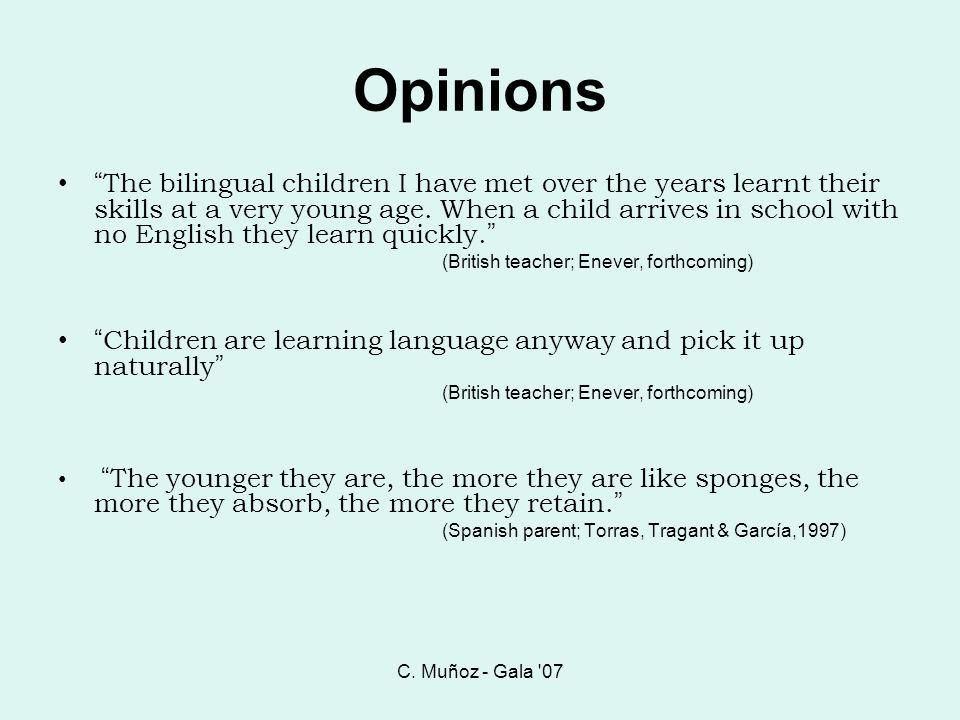 C. Muñoz - Gala 07 Opinions.