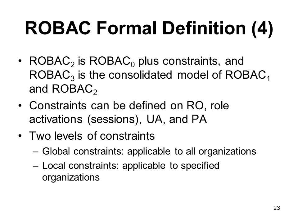 ROBAC Formal Definition (4)