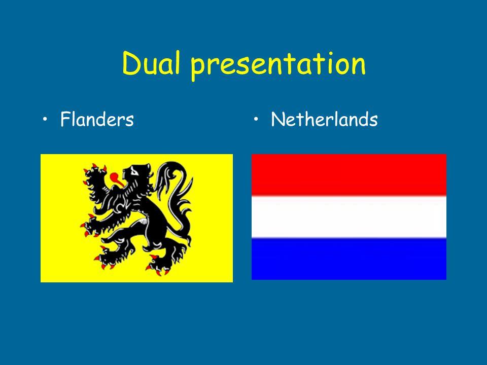 Dual presentation Flanders Netherlands Nederland: Ineke