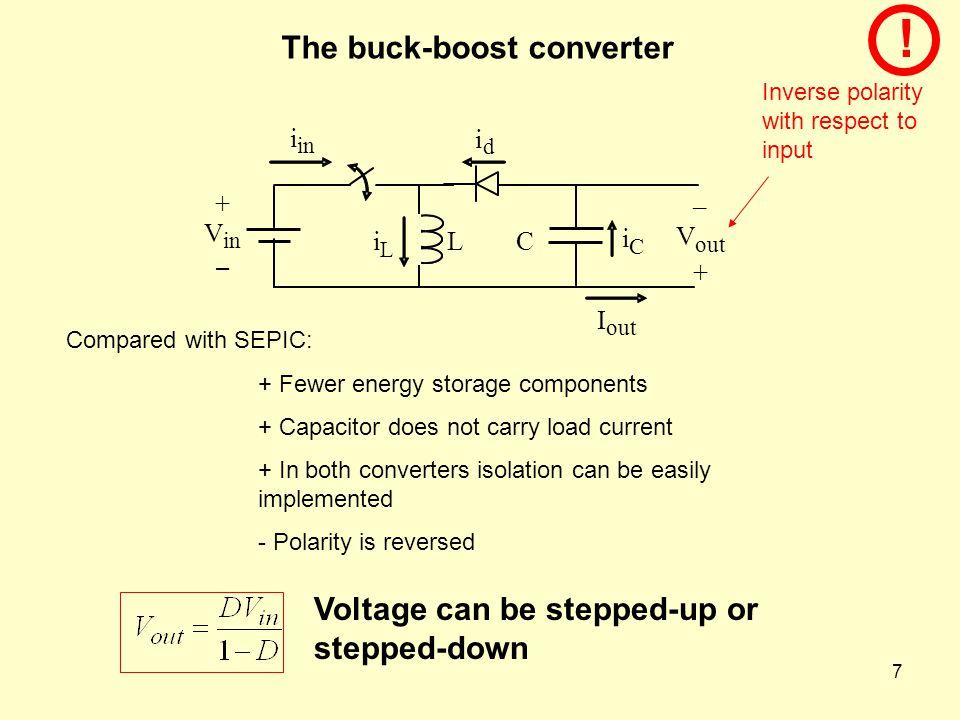 The buck-boost converter
