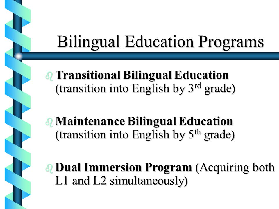 late exit transitional bilingual program