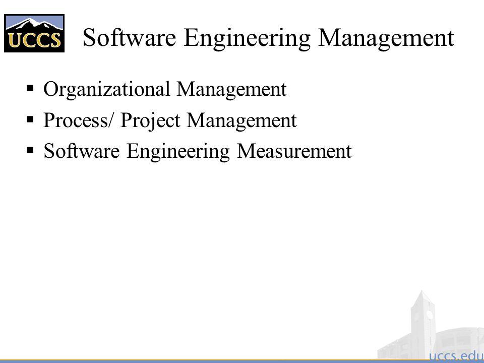 Software Engineering Management
