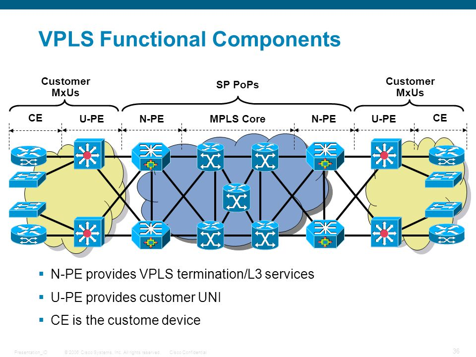 VPLS Functional Components