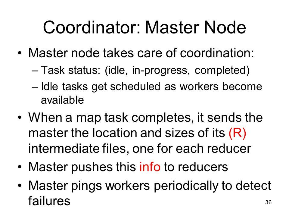 Coordinator: Master Node