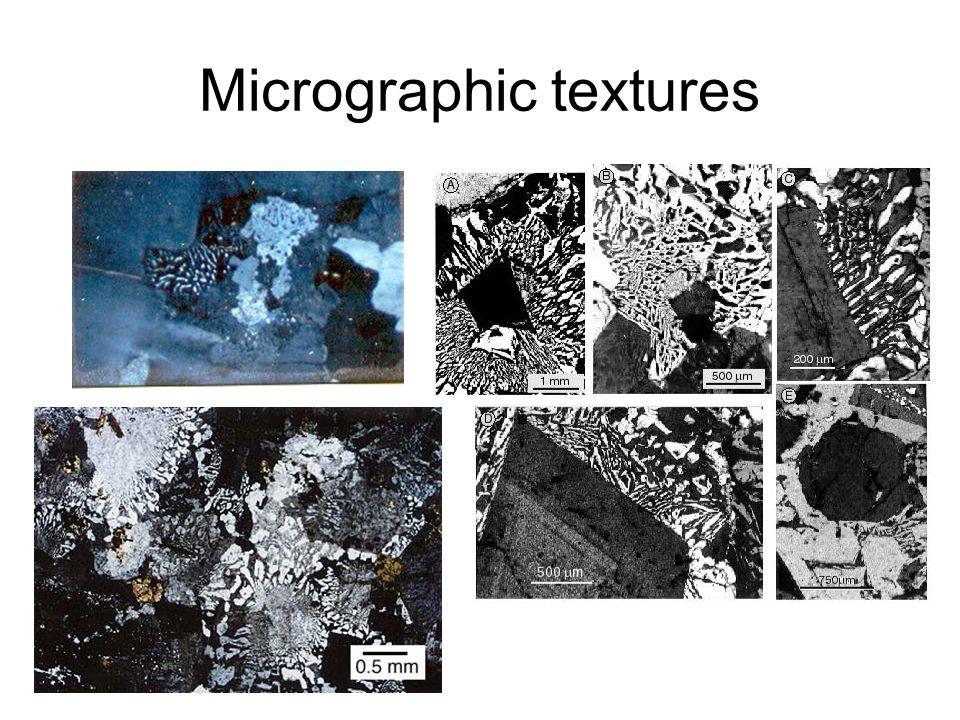Micrographic textures