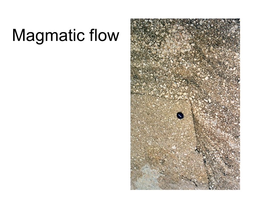 Magmatic flow