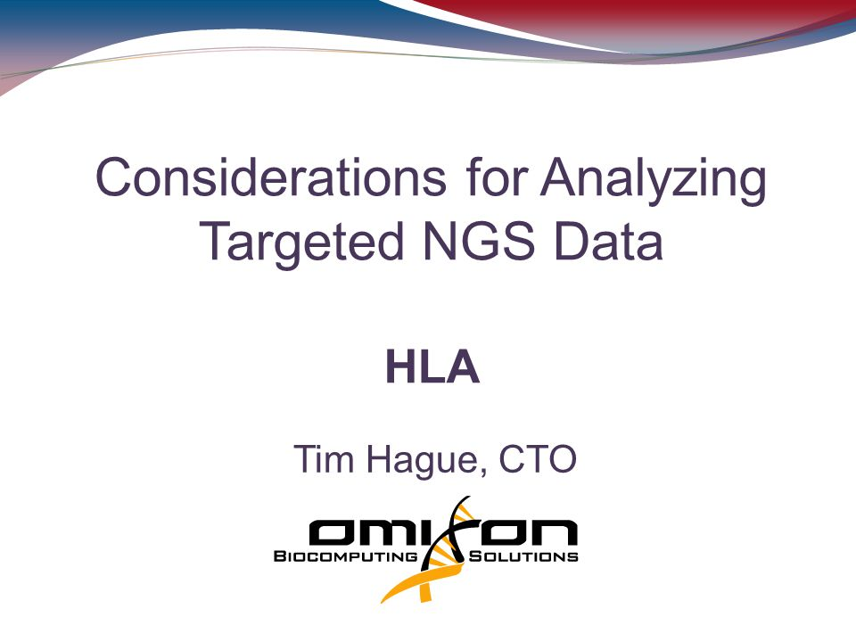 Considerations for Analyzing Targeted NGS Data HLA
