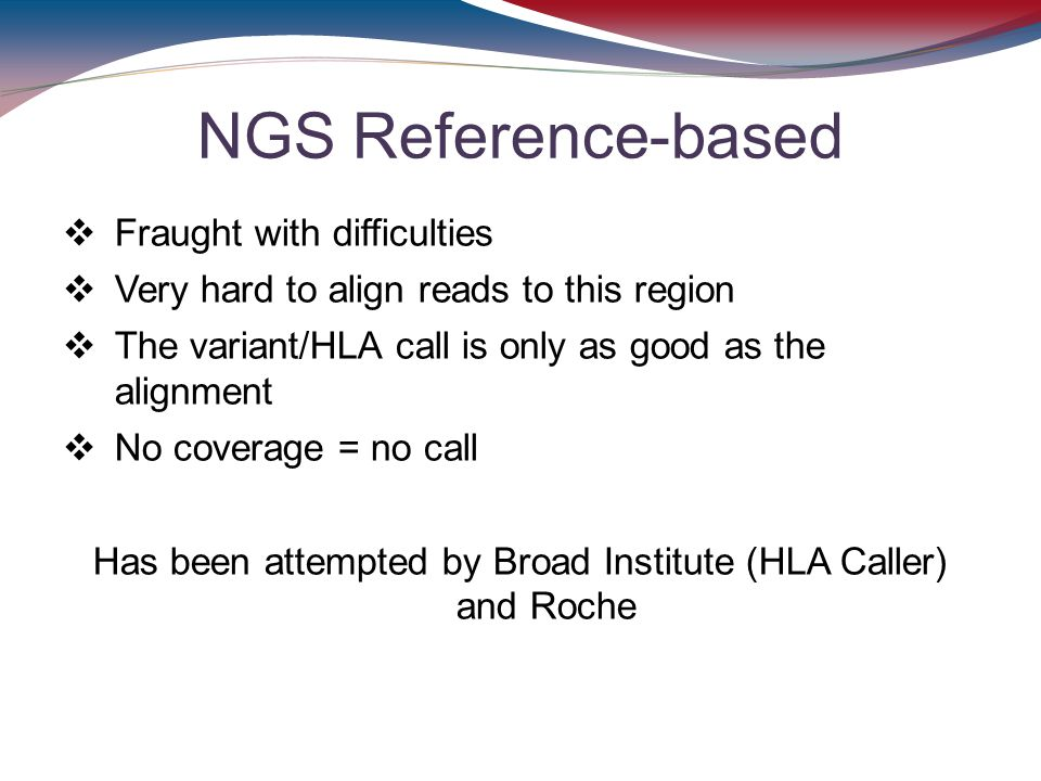 Has been attempted by Broad Institute (HLA Caller) and Roche