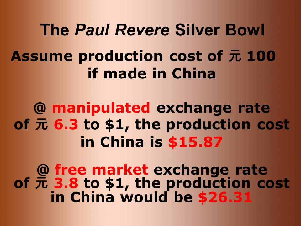 The Paul Revere Silver Bowl