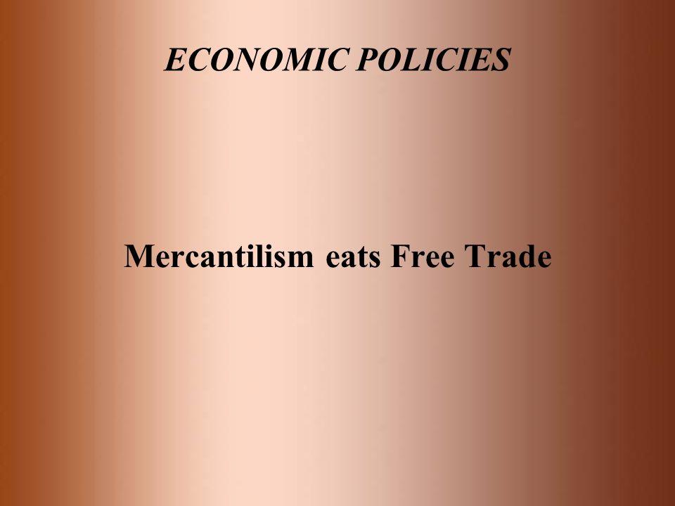 Mercantilism eats Free Trade