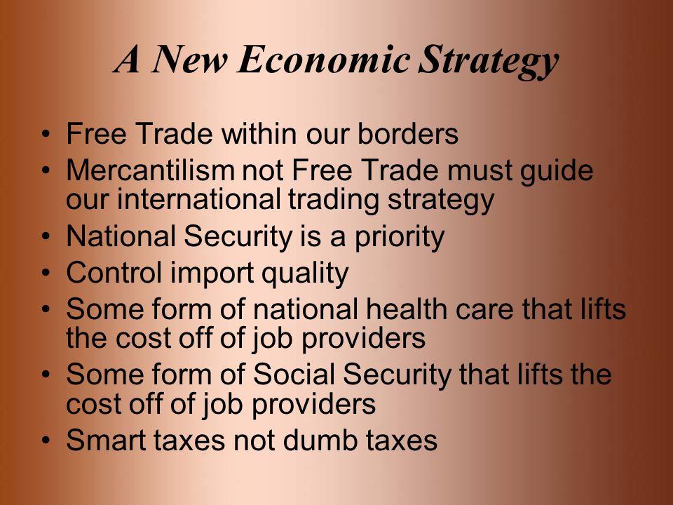 A New Economic Strategy