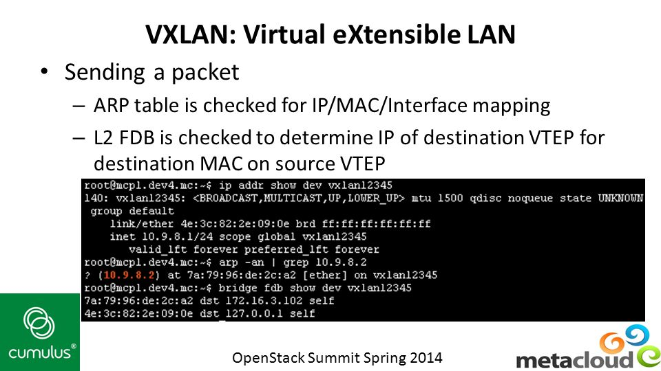 VXLAN: Virtual eXtensible LAN