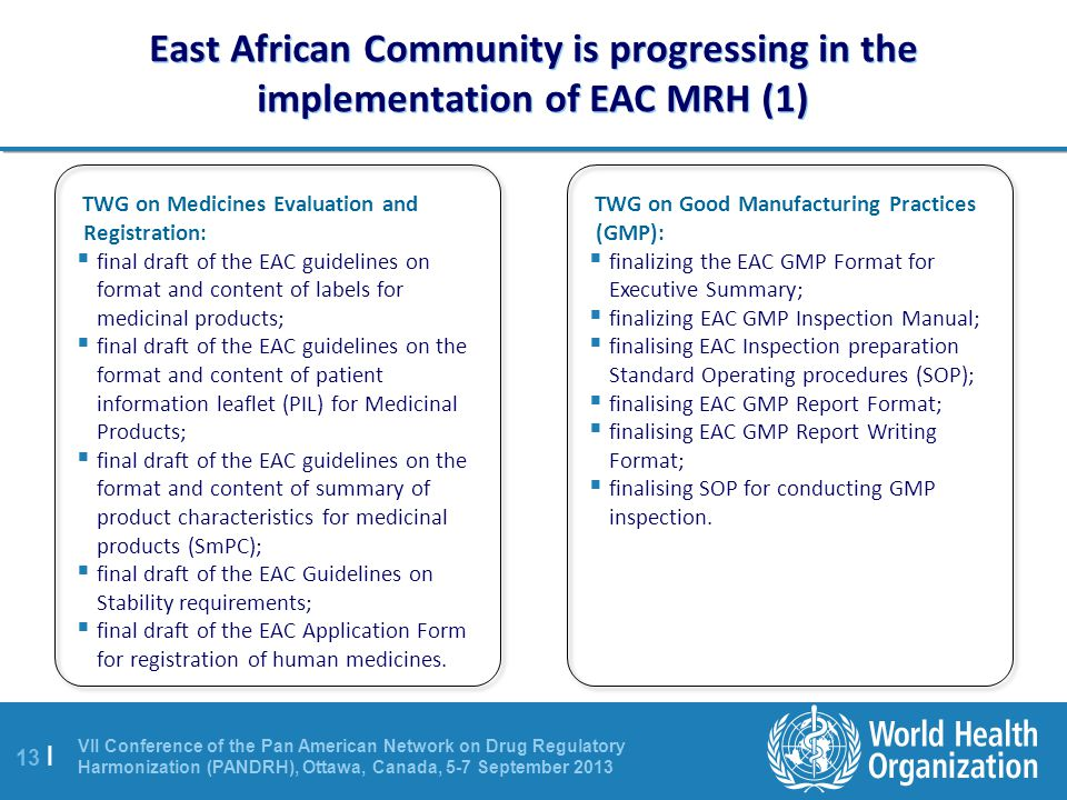 East African Community is progressing in the implementation of EAC MRH (1)