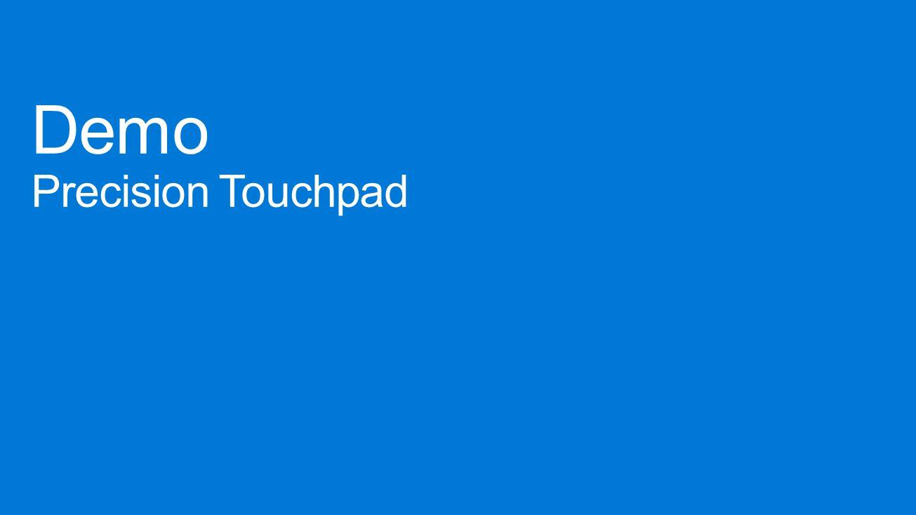 Demo Precision Touchpad