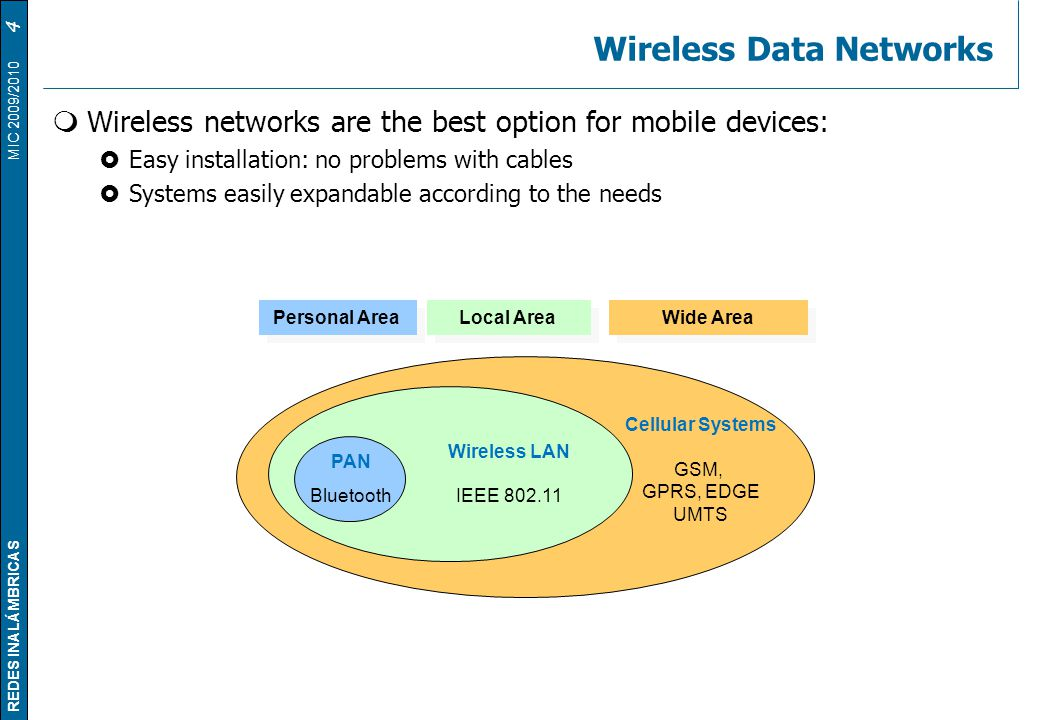 Wireless Data Networks