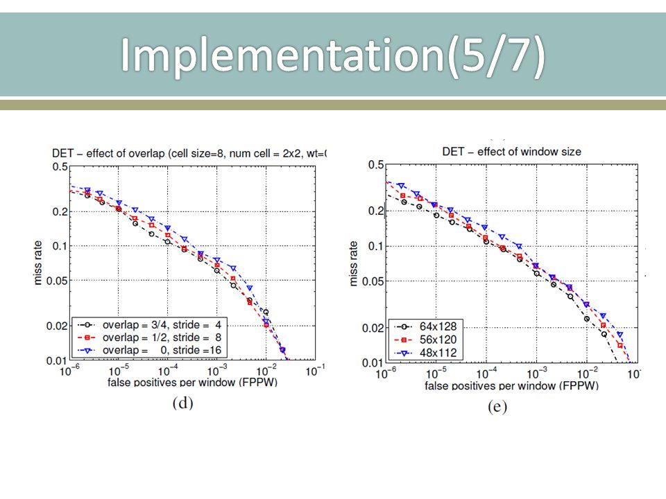 Implementation(5/7)